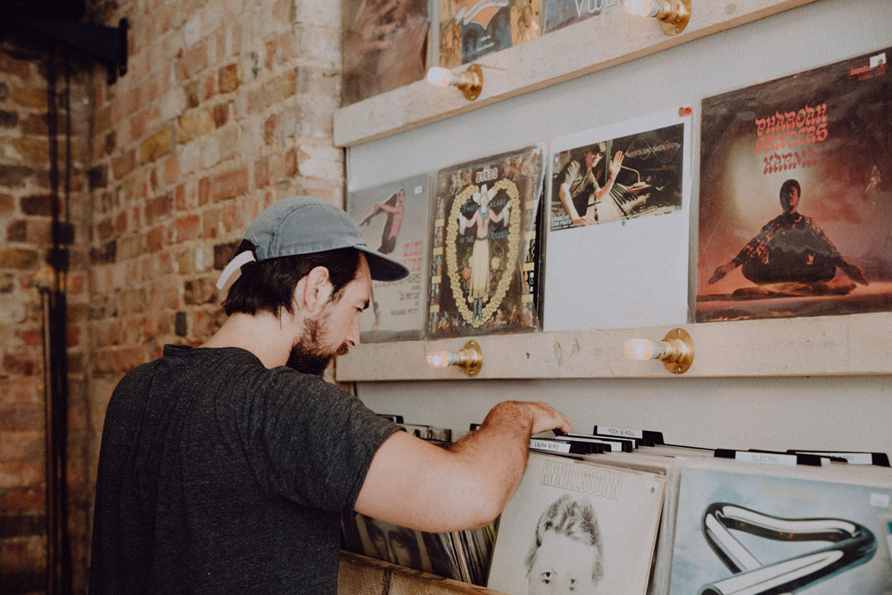 Record Shopping with... Charles Watson