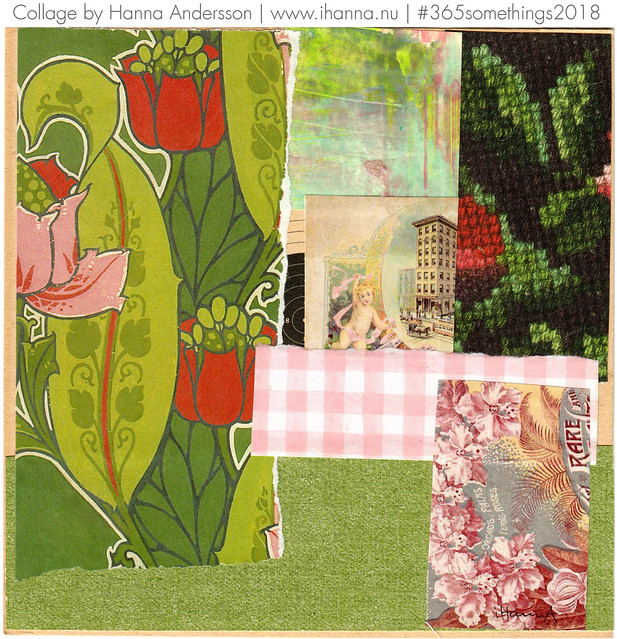 Green mixed in - Collage no 171 by iHanna