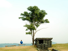 old bunker in Khao Kho Viewpoint , Phetchabun , Thailand