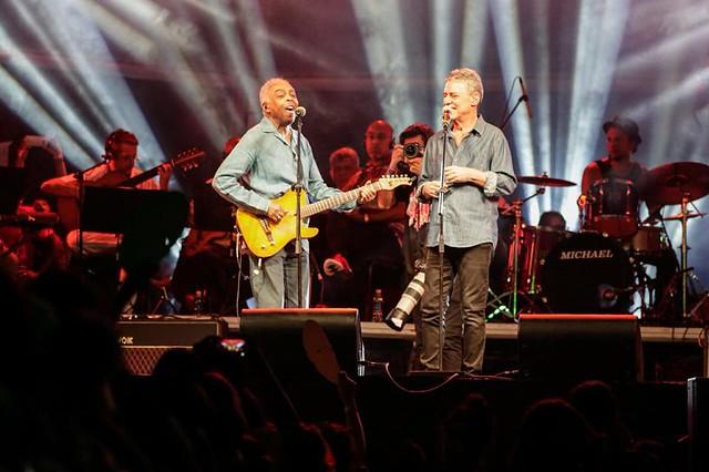 Gilberto Gil e Chico Buarque se apresentam no Festival Lula Livre, na Lapa, Rio de Janeiro - Créditos: Foto: Mídia NINJA
