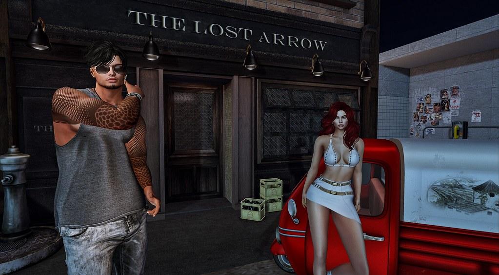 The lost arrow