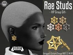 OXIDE Rae Studs - VIP Group Gift