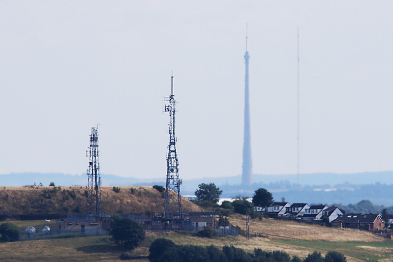 Wrose transmotters and Emley Moor Transmitters