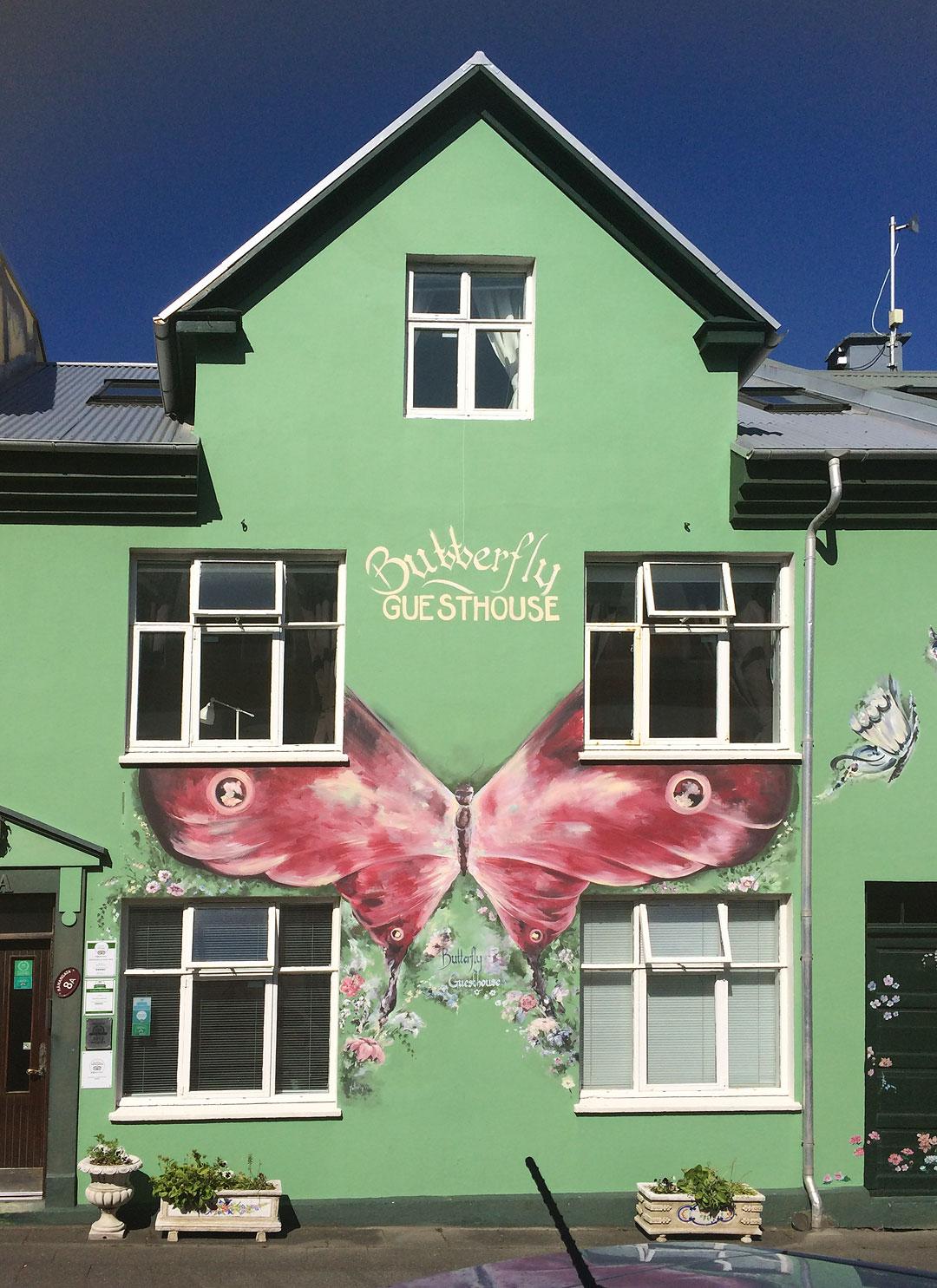 Butterfly Guesthouse in Reykjavik