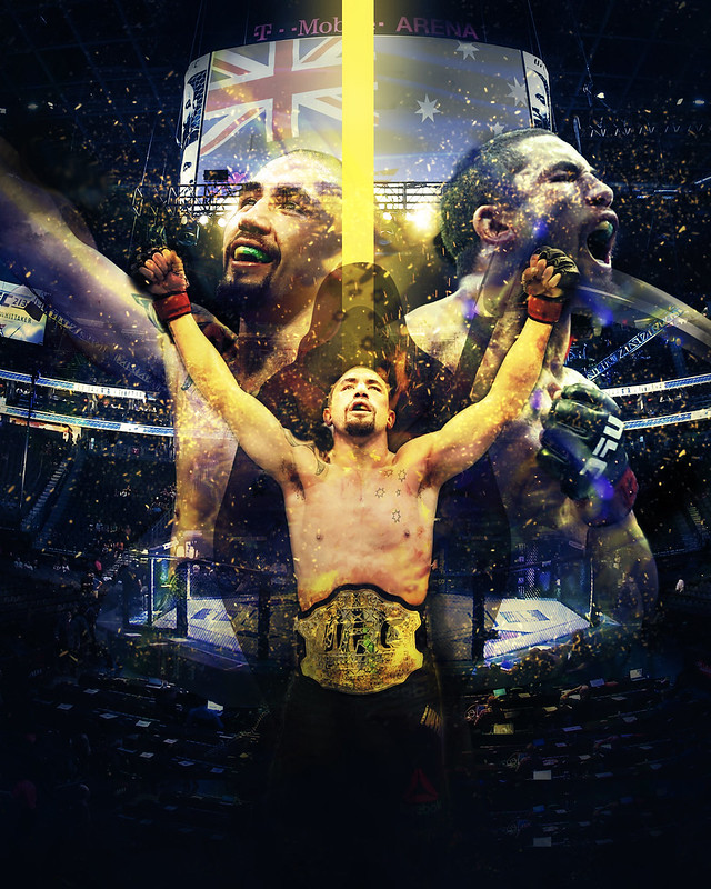 New Robert Whittaker poster! | Sherdog Forums | UFC, MMA