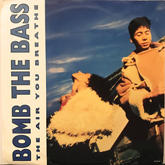 BOMB THE BASS:THE AIR YOU BREATHE(JACKET A)