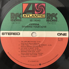 CHANGE:SHARING YOUR LOVE(LABEL SIDE-A)
