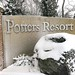 Potters Resort Main Entrance In Winter