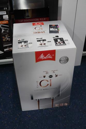 Kaffeevollautomat Caffeo® CI® von Melitta (noch verpackt, noch im Geschäft)