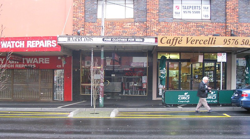 Bentleigh bus stop, July 2008