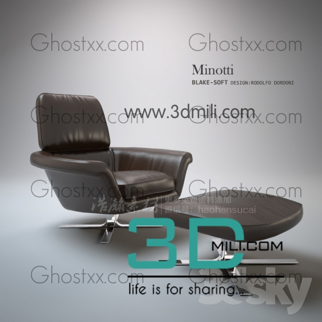 454  Chair 3D Models Free Download - 3D Mili - Download 3D