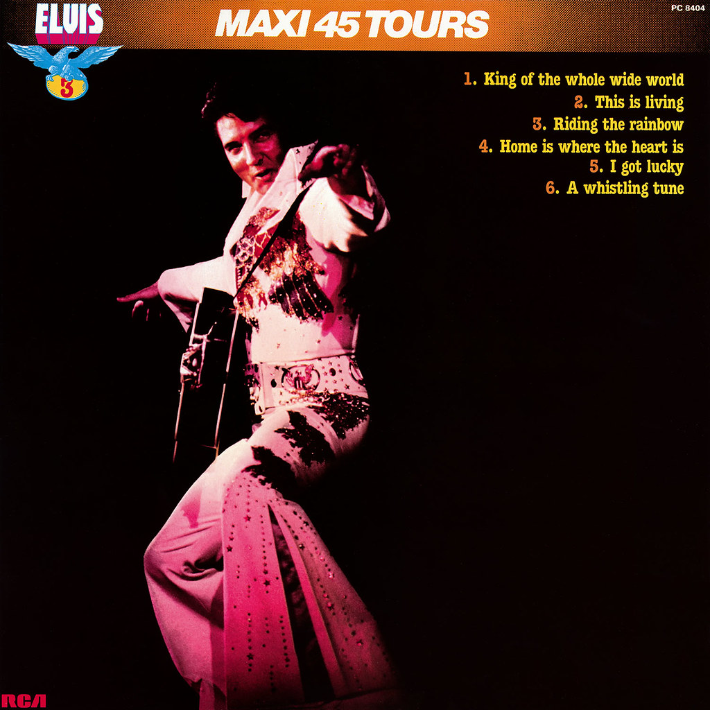 Elvis Presley - Maxie 45 Tours vol 3