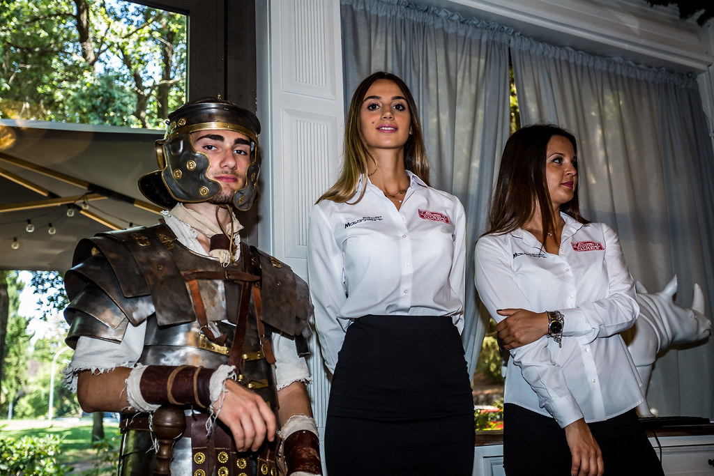 Girls and Gladiator during the 2018 European Rally Championship ERC Rally di Roma Capitale,  from july 20 to 22 , at Fiuggi, Italia - Photo Thomas Fenetre / DPPI