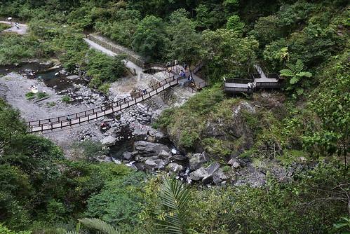 新寮瀑布步道-第一層瀑布觀景台