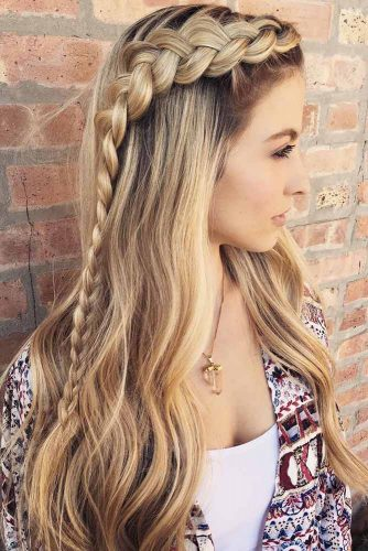Adorable Dutch Braid Hairstyles To Amaze Your Friends! 2