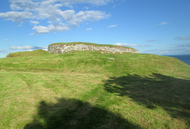 Càrn Liath Broch from South