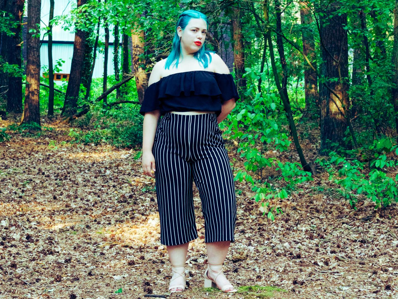 OOTD: crop top & culottes