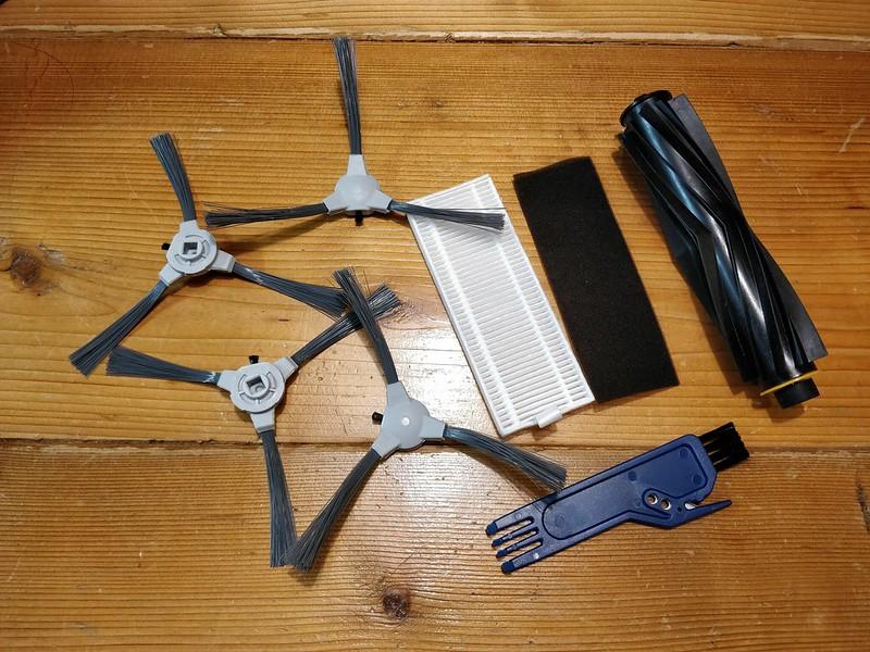 Diggro D300 ロボット掃除機 開封レビュー (25)