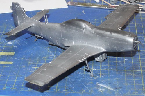 N.A. P-51D Mustang, Airfix 1/48 - Sida 4 29939010438_b83480df41