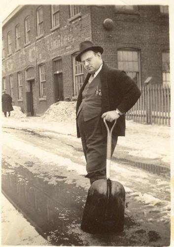 M. Lucien Fortin dans les années 1940