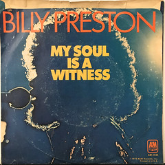 BILLY PRESTON:NOTHING FROM NOTHING(JACKET B)