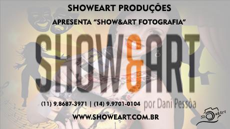 CARTÃO SHOWEART FOTOGRAFIA