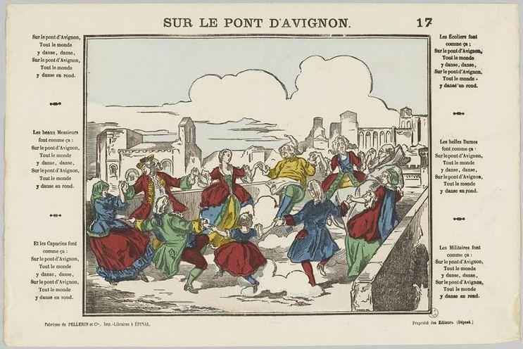 Sur_le_pont_d'Avignon_19th