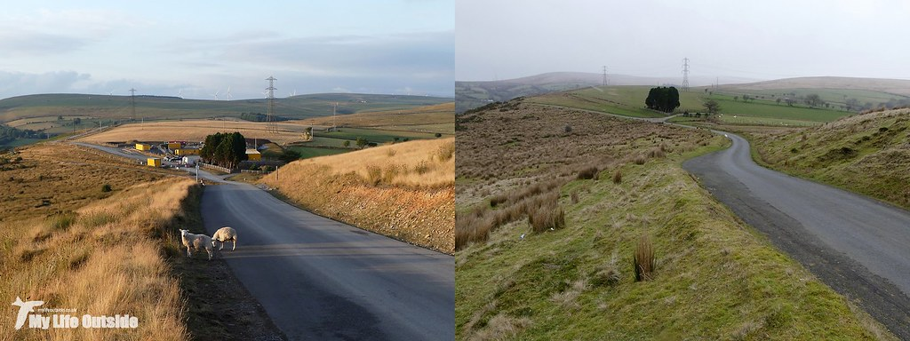 mynydd y gwair now and then