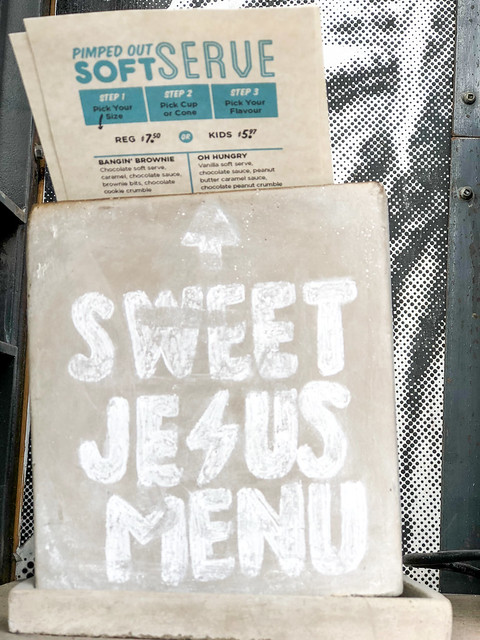 Review Of Sweet Jesus Ice Cream & Counting My Foodie Blessings