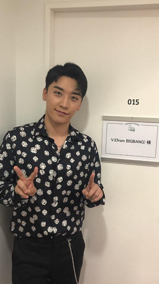 BIGBANG via YGEXStaff - 2018-08-07  (details see below)