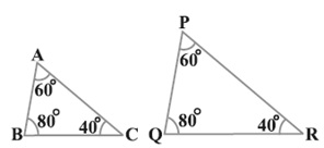 triangles class 10 in Hindi Medium Ex 6.3 Q 1