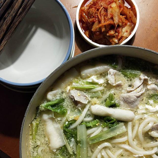 20180726 來一鍋烏龍麵 配韓國泡菜 #葛蘿的餐桌