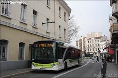 Heuliez Bus GX 327 BHNS – Transdev Valence / Citéa n°166
