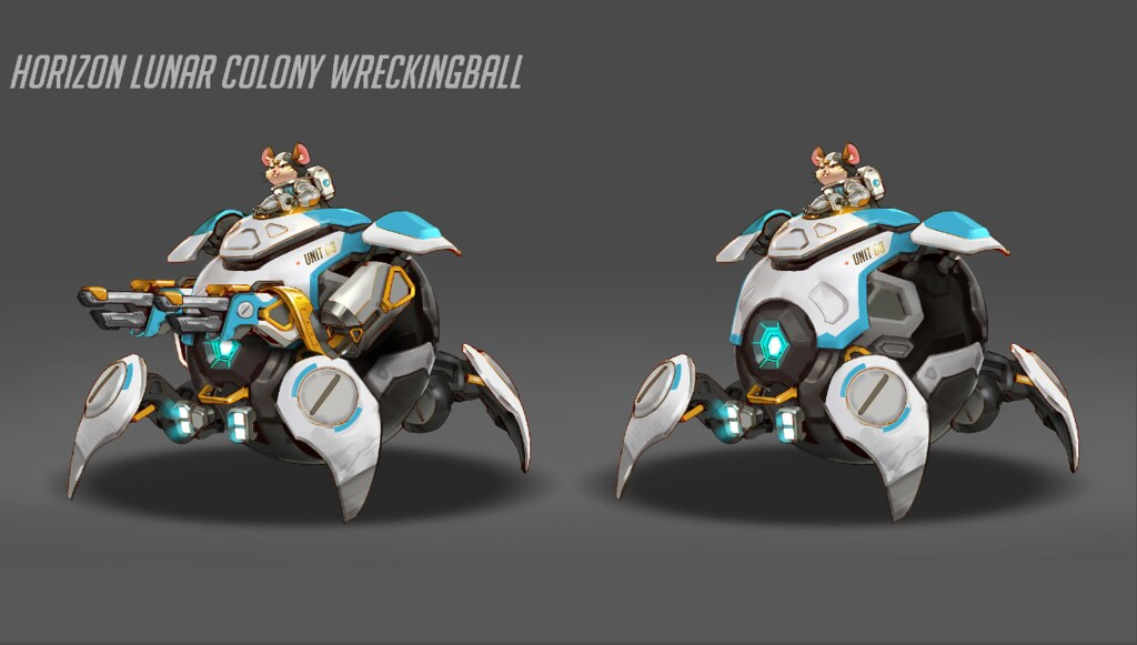 Overwatch: Wrecking Ball