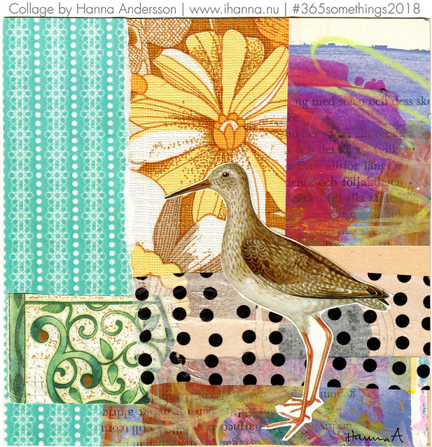 Proud Little Bird - Collage no 163 by iHanna