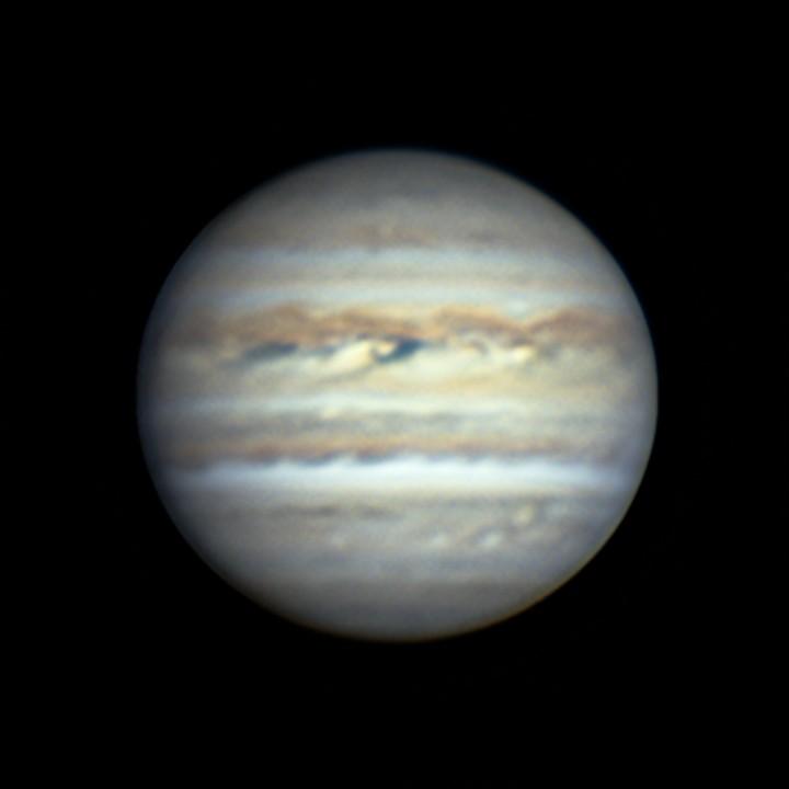 木星 (2018/7/23 20:09-20:27) (1500/3000 x 6 de-rotation (20:17) LRGB)