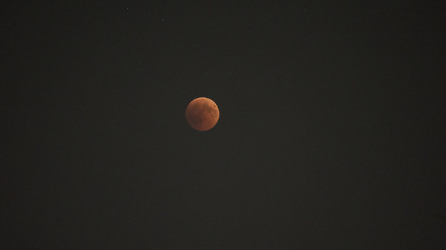 Blood Moon July 2018 from Egypt