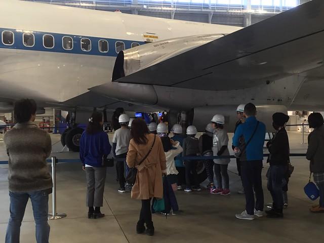 あいち航空ミュージアム パイロット職業体験 YS-11 機体外部点検 A8F199CD-BC0F-4ED1-BE57-A0E5B1743F68