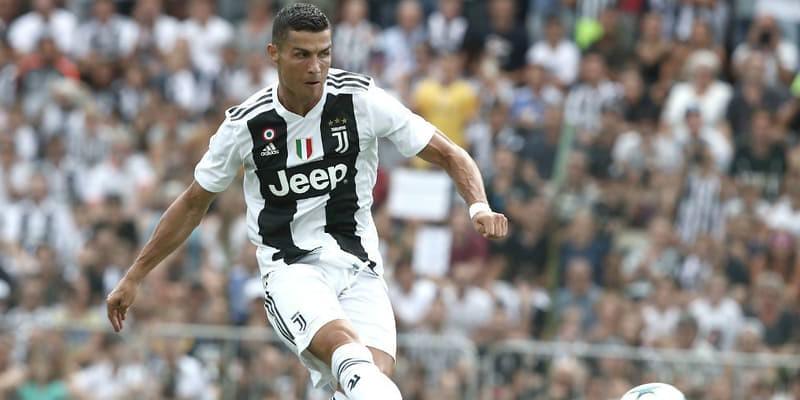 Ronaldo Mencetak Gol Pertama Untuk Juventus