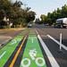 New bike lanes on N Lombard by BikePortland.org