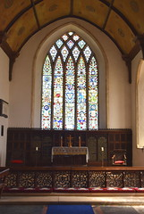 sanctuary and east window