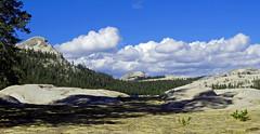 Soft Clouds above Hard Granite, Yosemite NP 2017