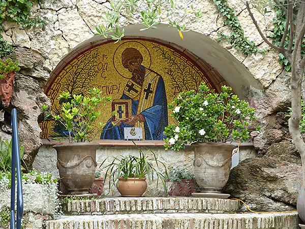 mosaïque église grecque