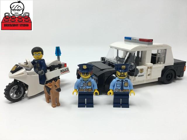 LEGO MOC Police Car (USA Style)