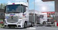 Mercedes Benz Actros MP4 1845 StreamSpace