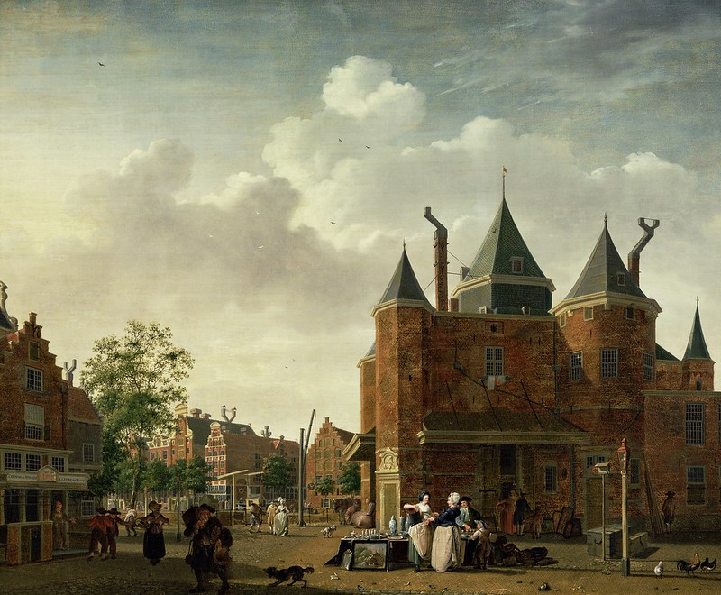 Isaac Ouwater - De Sint-Antoniuswaag in Amsterdam (c.1785)
