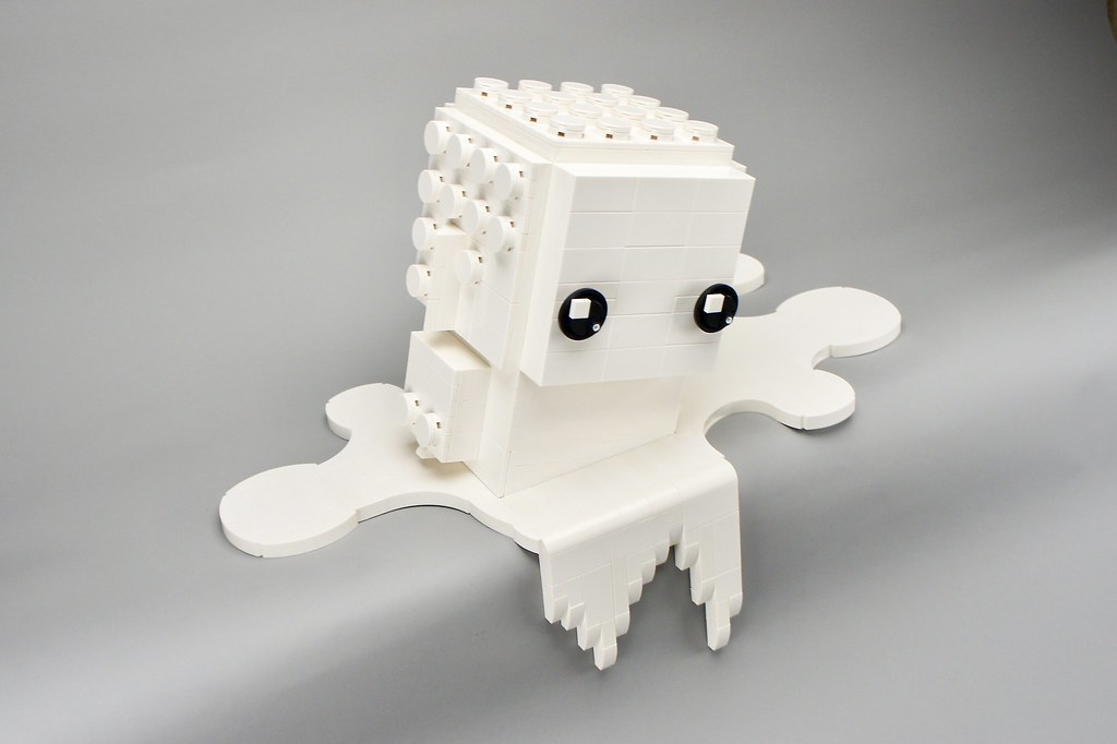 LEGO Monochrome Big BrickHeadz in White