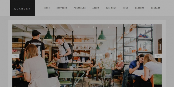 Avander v1.0 - WordPress Theme