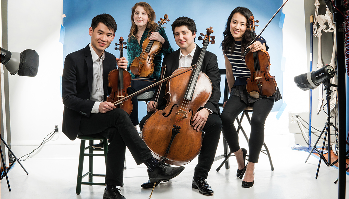 Omer Quartet, ArtPlay Parlor Series feat. Young Concert Artists