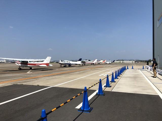 航空フェスティバル2018in愛知 駐機場開放 通路写真 IMG_0737